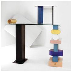 Ettore Sottsass - my idol Shaker Furniture, Home Furniture, Furniture Design, Memphis Design, Storage Shelves, Shelving, Camille Walala, Memphis Milano, 1980s Design
