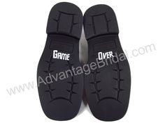 Custom Game Over Shoe Decal $7.95
