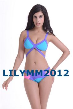 2014 Fashion Colorful Bandage Swimwear Women Bikini Set Sexy Lady Swimsuit 6 Colors   Confira um novo artigo em http://importarroupas.blog.br/products/2014-fashion-colorful-bandage-swimwear-women-bikini-set-sexy-lady-swimsuit-6-colors/
