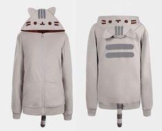 Risultati immagini per pusheen hoodie
