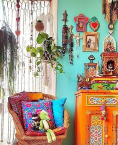 70 find out who's talking about eclectic bohemian decor boho living rooms 18 Bohemian House, Bohemian Interior, Bohemian Decor, Bohemian Style, Bohemian Lifestyle, Hippie Bohemian, Modern Bohemian, Boho Chic, Bohemian Living