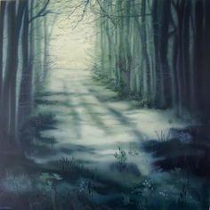"Saatchi Art Artist: Lara Cobden; Oil 2011 Painting ""Dappled Stories"""