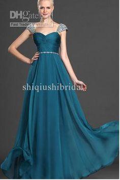 Wholesale Evening Dresses - Buy 2014 New Fasion Elegant Chiffon A-line  Floor-length d113daab28e9