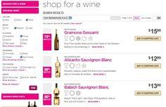 Screenshot of winestore-online.com