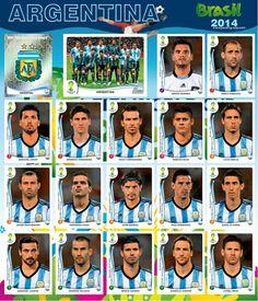 Best Football Team, World Football, Soccer World, Football Soccer, Argentina Team, Argentina Football, Football Stickers, Football Cards, World Cup 2014