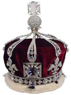Coroa da rainha Maria, século XIX