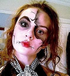 broken doll makeup - Yahoo Image Search Results