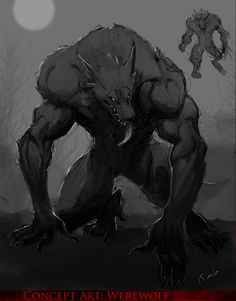 More popularly called a Werewolf, he is cursed to tread the Earth in the form of a Beast every full moon. Description from figment.com. I searched for this on bing.com/images