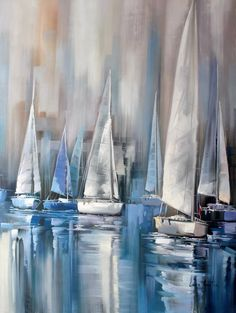 Regatta At Dawn Painting 5 cm by Lucia Amitra Name Regatta At Dawn Painter Lucia Amitra Size 36 8242 x 48 8242 90 x 120 cm Style Rea Regatta At Dawn Painting 5 cm by Lucia Amitra Name Regatta At Dawn Painter Lucia Amitra Size nbsp hellip Painting realism Types Of Painting, Painting Videos, Painting Techniques, Painting Tips, Ship Paintings, Your Paintings, Oil Painting Abstract, Abstract Art, Canvas Frame