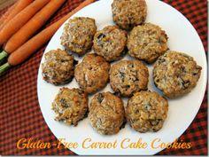 Gluten-Free Carrot Cake Cookies