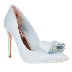 e3f4ee56314 Buy Ted Baker Tie the Knot Azeline Bow Stiletto Heeled Court Shoes Online  at johnlewis.