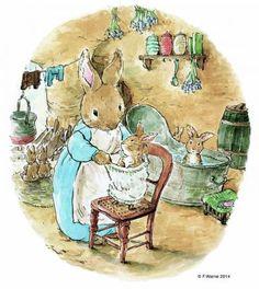 New Children Illustration Vintage Peter Rabbit 25 Ideas Beatrix Potter Illustrations, Illustrations Posters, Peter Rabbit Pictures, Alfabeto Animal, Peter Rabbit Nursery, Beatrice Potter, Peter Rabbit And Friends, Rabbit Art, Bunny Art