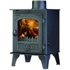 Hunter Multi Fuel Stoves | Buy 5KW Hawk 4D Multi Fuel Stove Online | UK Stoves