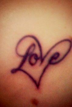 favorite love tattoo