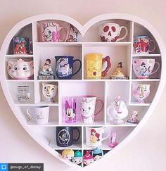 I love Disney mugs and I especially love fun ways to display them! I love Disney mugs and I especially love fun ways to display them!