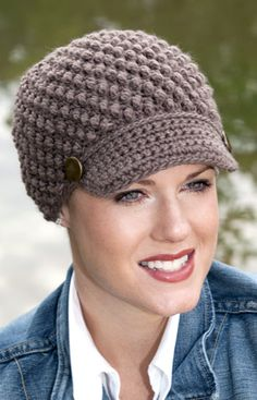 Crochet Patterns Hats For Cancer Patients : 1000+ images about Crocheted chemo cap ideas on Pinterest ...