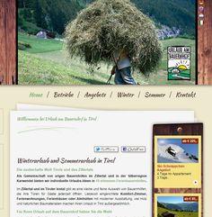Urlaub am Bauernhof im Zillertal und in Tirol - Österreich. Ferienwohnungen, Zimmer mit Frühstück,...
