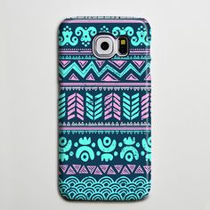 Turquoise Aztec Tribal Retro Galaxy Edge Plus Case Galaxy Case Samsung… Girly Phone Cases, Phone Cases Samsung Galaxy, Ipod Cases, Diy Phone Case, Phone Cover, Galaxy Note 4 Case, S7 Case, Cell Phone Accessories, Galaxies