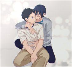 Minato x Seiya (Tsurune) Aladdin Magi, Kyoto Animation, Tsundere, Cute Anime Boy, Hisoka, Shounen Ai, Anime Ships, Fujoshi, Anime Characters