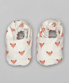 White Fox Booties | zulily