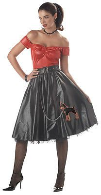 062ec752871 50s TUFF COOKIE GREASE POODLE DRESS FANCY DRESS COSTUME 50s Costume