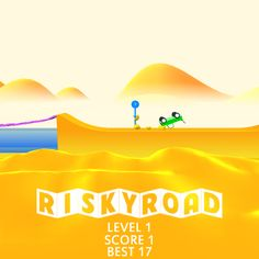 OMG ! I just scored 1 points in #RiskyRoad ! Can you beat my score ?  https://itunes.apple.com/app/risky-road/id1081132864