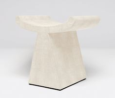 Furniture | Made Goods - first saw this whale tail style stool at the Gropius house... cool in front of a fireplace!