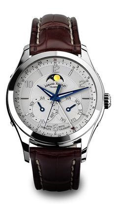M02 Complete Calendar swiss watch - by Armand Nicolet