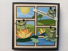 Marianne Design, Frame, Cards, Animals, Ideas, Decor, Picture Frame, Animales, Decoration