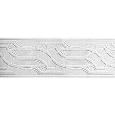 Great (discontinued) PT1834B Fretwork Border Paintable Architectural Texture Wallpaper  Border