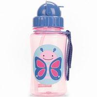 Skip Hop - Zoo Straw Bottle - Drinkfles - Vlinder
