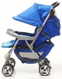 Xe đẩy Cool-Kids Tika màu xanh.