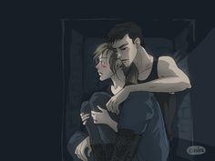 Divergent. Tris & Four <3