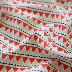 Triangle Pattern Cotton Oxford Wide Width Fabric от luckyshop0228