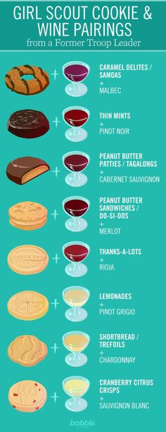 Girl Scout Cookie and Wine Pairings from a Former Troop Leader