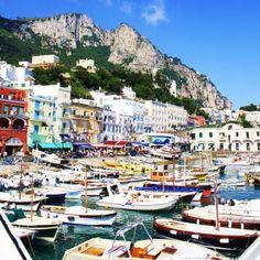Capri Italy last summer. Take me back