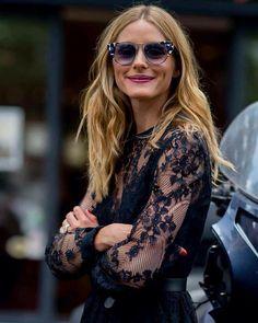 #ElieSaab @eliesaabworld  #LeilaEmineLundsten  #Paris #HauteCouture #AW1617 #Lace #Sunglasses #OliviaPalermo