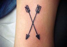 Small Tattoos Men Arrows