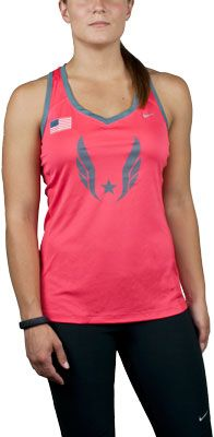 2eb53034a5 Online Store - Nike USATF Women s Miler Running Tank Top