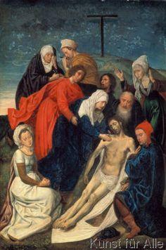 Hugo van der Goes - Die Beweinung Christi