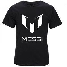 ecc4727f67 summer Lionel Messi Barcelona homme drake Men s t-shirts casual fitness  black brand clothing cotton Hip Hop streetwear tshirt. football xclusive