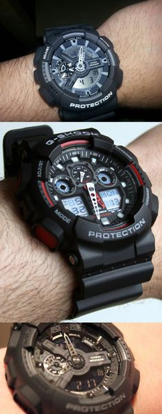 Casio Protrek Watches - Designed for Durability. Casio Protrek - Developed for Toughness Forget technicalities for a while. Let's eye a few of the finest things about the Casio Pro-Trek. Casio G Shock Watches, Casio Watch, Casio Protrek, G Shock Black, Watch Gears, Luxury Watches For Men, Keep An Eye On, Cool Watches, Black Watches