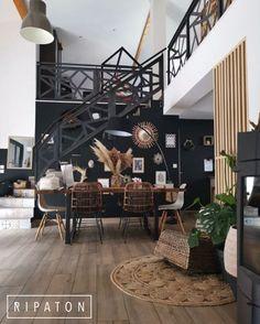Atelier Ripaton-Hairpin Legs-www. Boho Living Room, Home And Living, Estilo Colonial, Elle Decor, Apartment Living, Home Deco, Home Interior Design, Living Room Designs, Home Fashion
