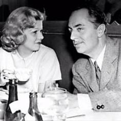 Jean Harlow & William Powell (off-screen)