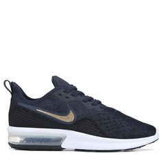 cc78dd69a56 Nike Women s Air Max Sequent 4 Running Shoes (Obsidian Gold)
