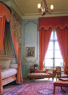 Timothy Corrigan - complete restoration of Château du Grand-Lucé,