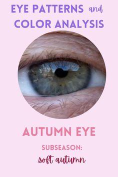Soft Autumn Makeup, Soft Autumn Color Palette, Fall Makeup, Deep Autumn, Deep Winter, Warm Autumn, Summer Eyes, Soft Summer, Eye Color