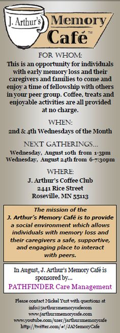 Memory Cafes are coming to the U.S.