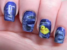 Duckling Swimming Nails