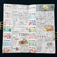 Journal of 【28-31 May & 01-10 Jun】lazy way to get two weeks of journal done #journal #diary #drawingdiary #visualjournal #sketch #doodle #doodling #drawing #fooddrawing #alldaybreakfast #workout #colorpencil #vscocam #coffee #繪日記 #色鉛筆 #塗鴉 #插圖 #mtn #midoritravelersnotebook #travelersnotebook #maskingtape